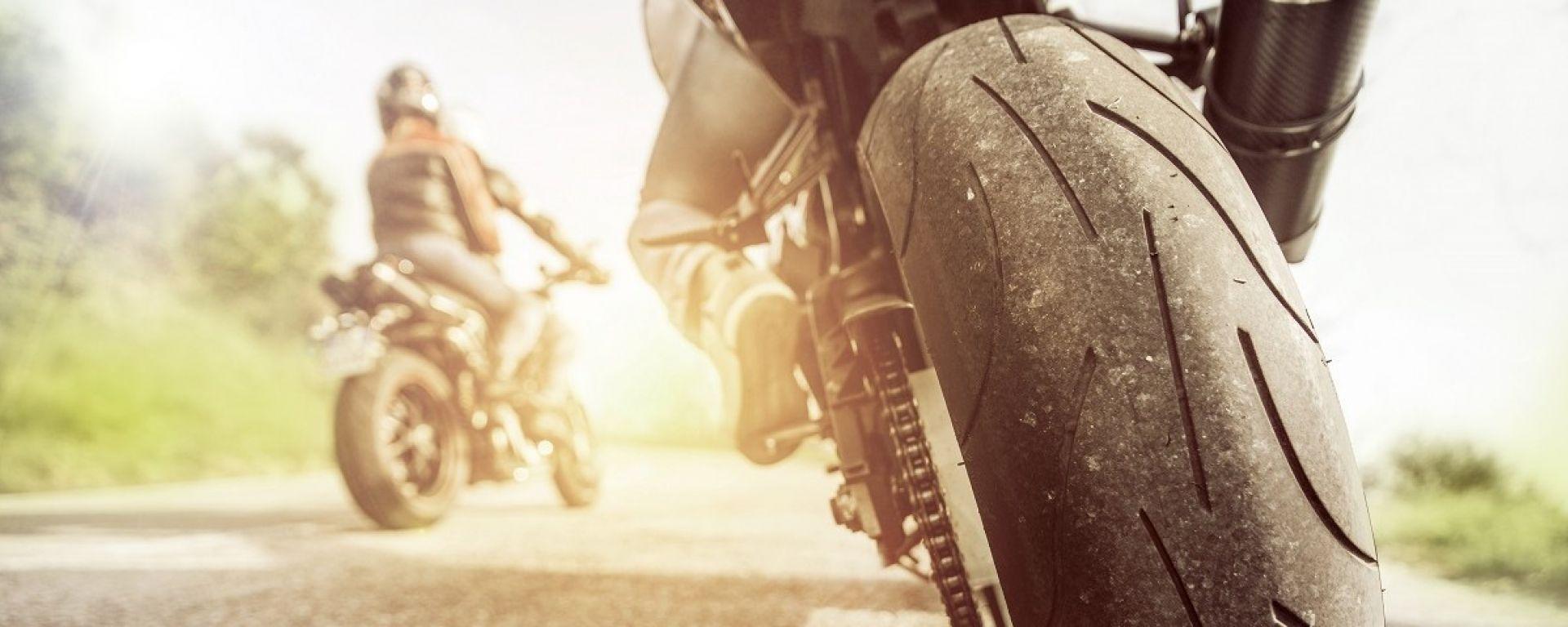 Guida autonoma moto