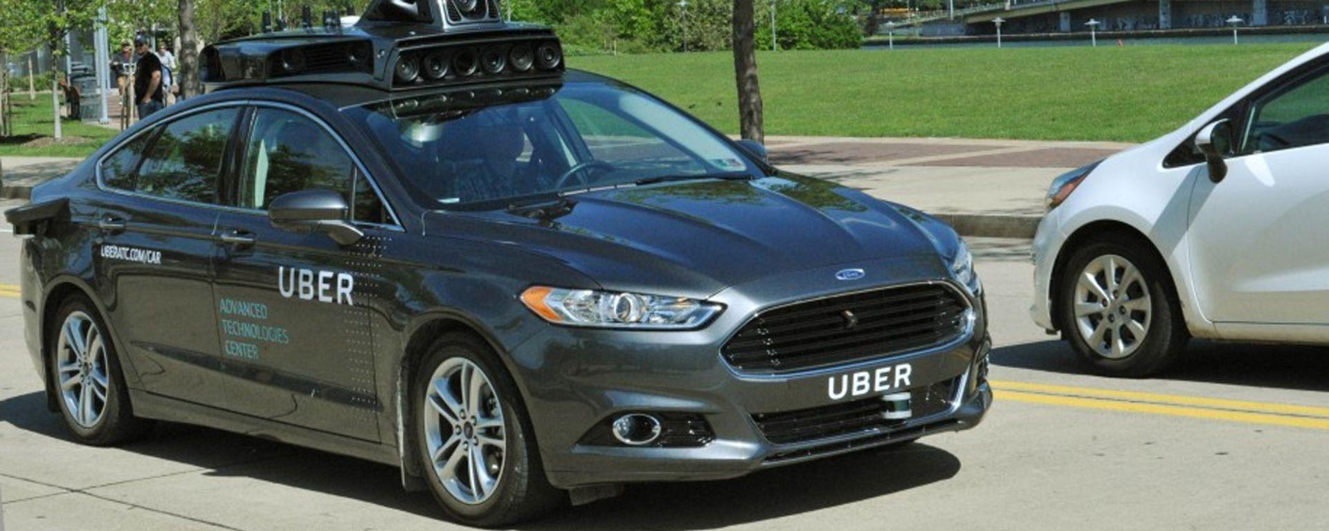 Guida autonoma: Uber inizia i test con una Ford Fusion Hybrid