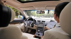 Guida autonoma, un prototipo cinese
