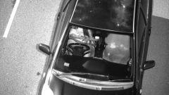 Guida con cellulare: una foto scattata dal Tutor anti-smartphone