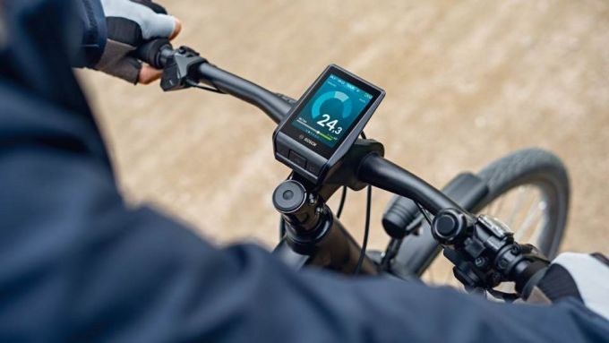 Guida e-bike 2020: il display di una e-bike