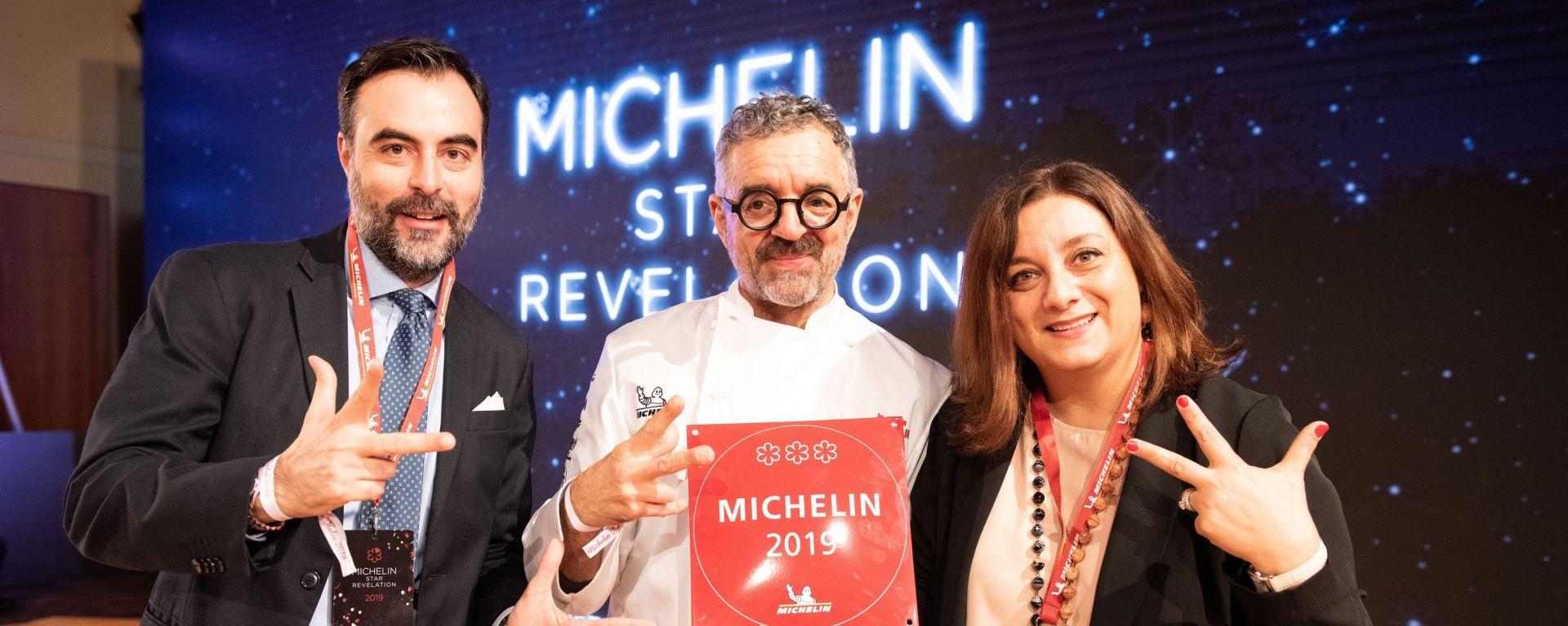 Guida Michelin 2019: brilla Mauro Uliassi con Tre Stelle