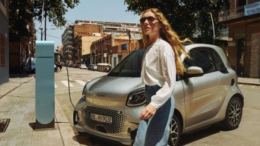 Guida ricarica BEV: smart park and charge