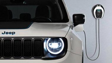 Guida ricarica BEV: una wallbox Jeep