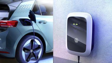 Guida ricarica BEV: una wallbox Volkswagen