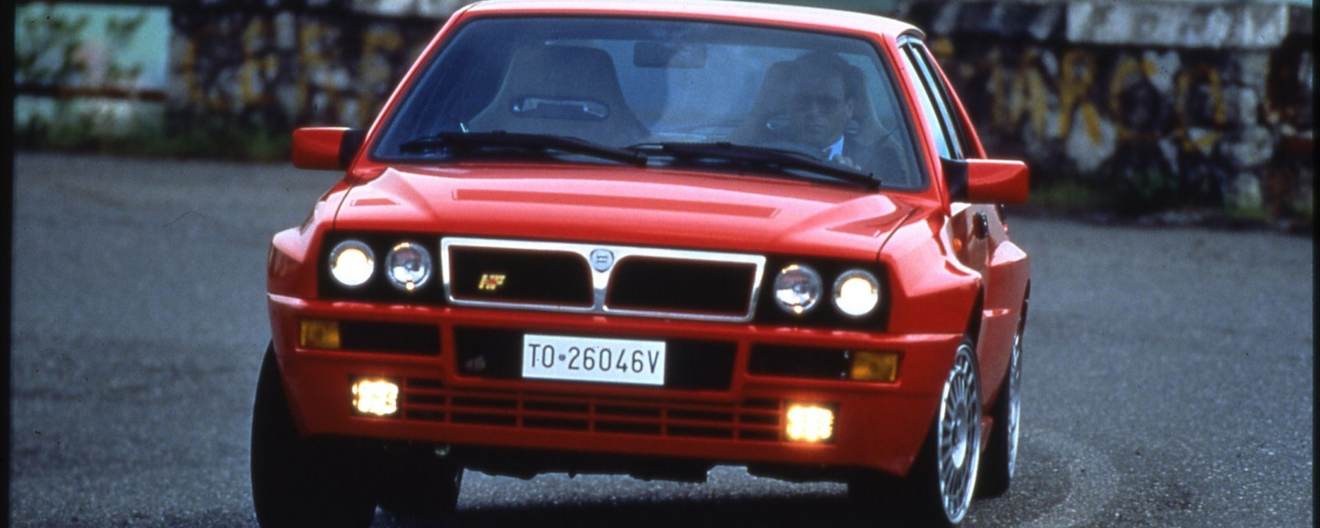 Guidare la Lancia Delta HF Integrale