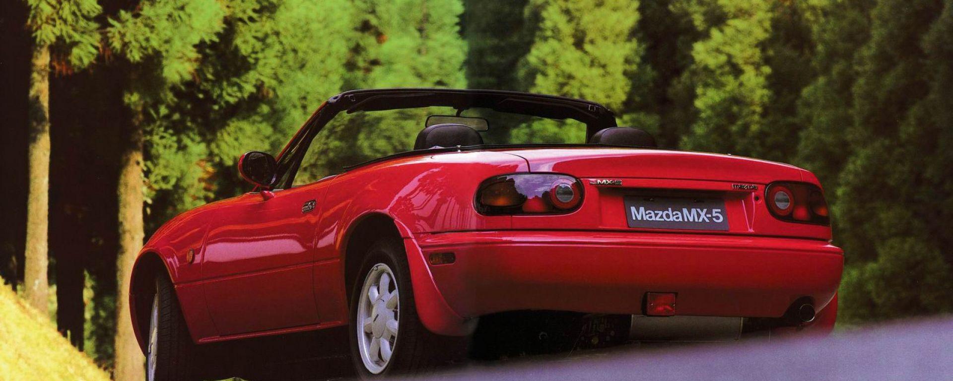 Guidare la Mazda MX-5