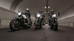 Guidare la moto di notte