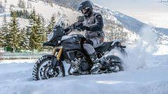 Guidare la moto in inverno