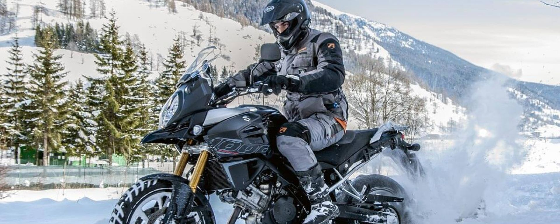 Guidare la moto in inverno