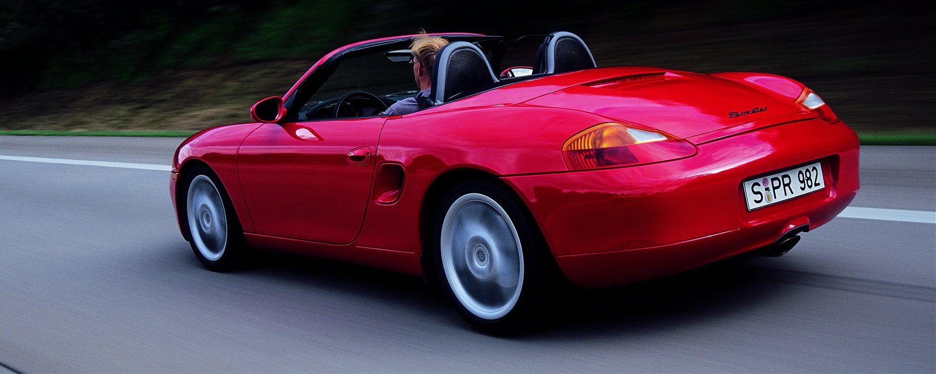 Guidare oggi la Porsche Boxster 986