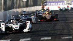Gunther al volante della sua Dragon Racing nell'ePrix di Marrakech
