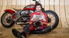 Guy Martin batte il record mondiale di velocità sul muro della morte - Immagine: 1