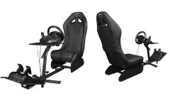GXT 1155 Rally Racing Simulator Seat, visuale davanti e dietro
