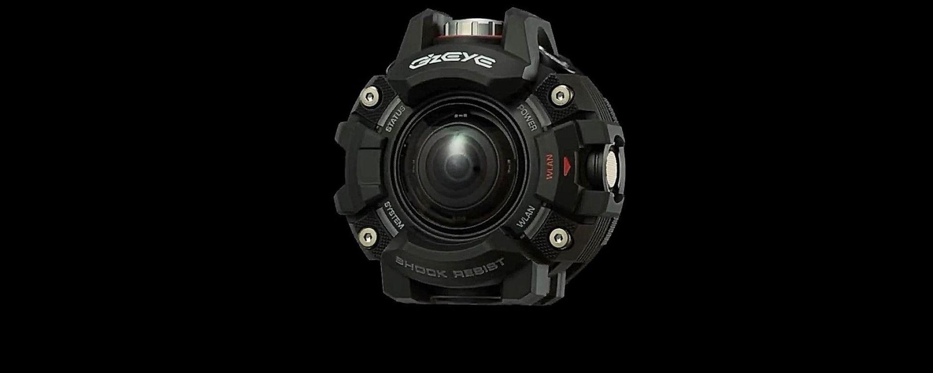 G'z Eye GZE-1 è la Casio G-Shock delle action cam