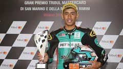 Hafizh Syahrin, secondo posto nel GP di Misano 2017
