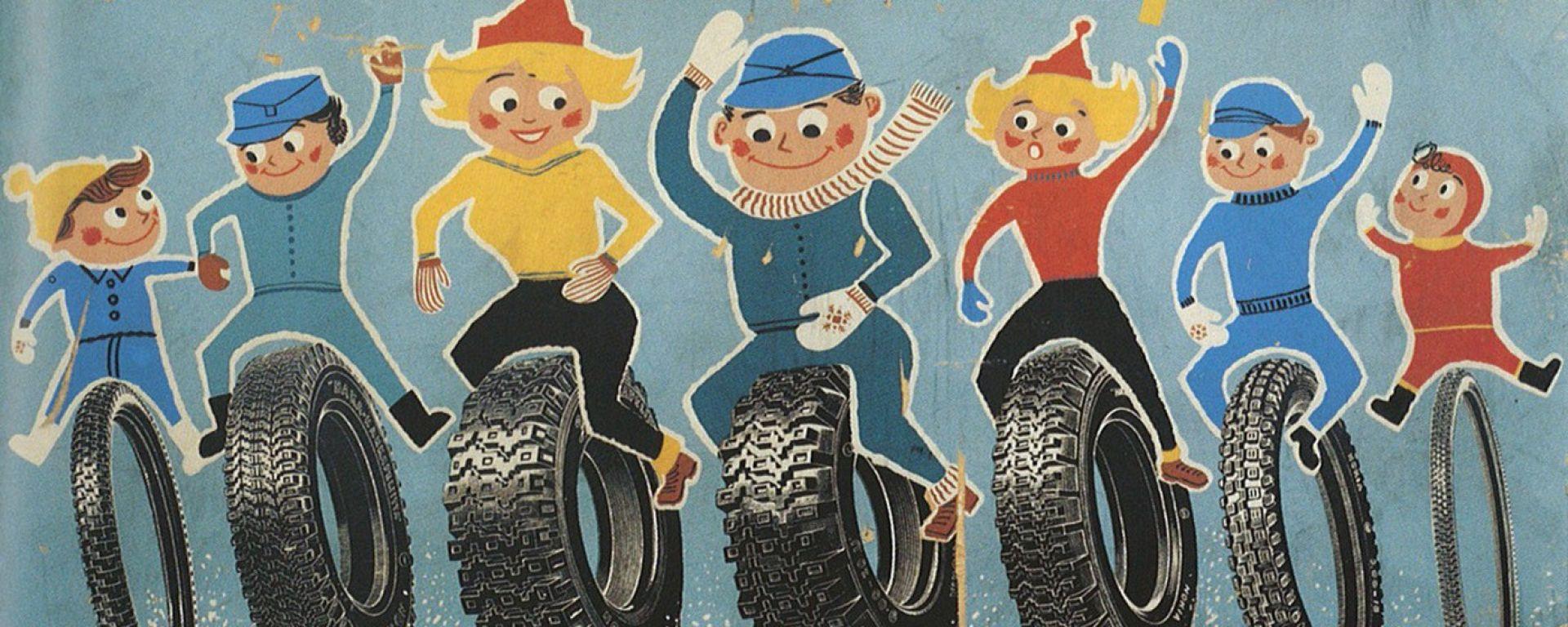 Nokian Hakkapeliitta: storia del primo pneumatico invernale