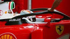 Halo F1 sulla Ferrari di Vettel