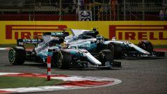 Hamilton contro Bottas nel 2017