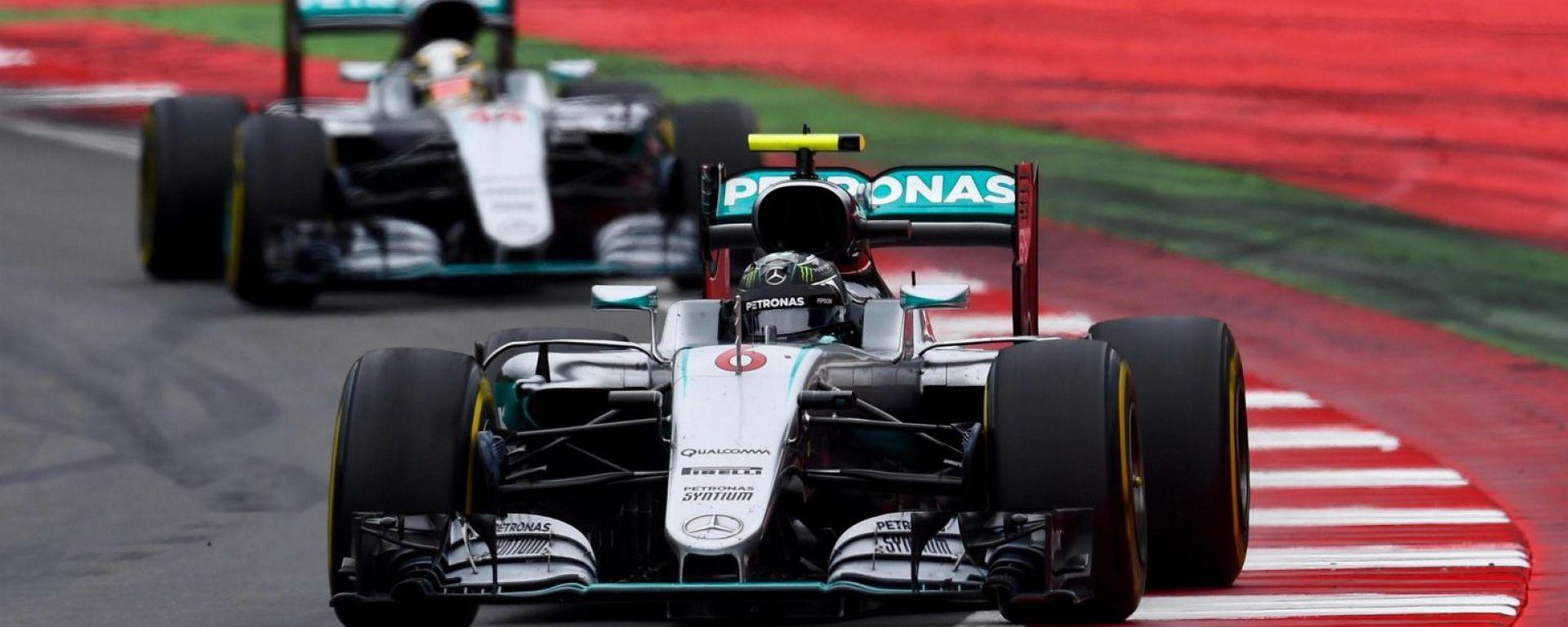 F1 Hamilton e Rosberg: già finita la tregua tra i due piloti