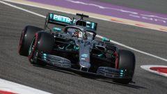 Hamilton ha parlato di problemi di bilanciamento per la sua Mercedes in Bahrain
