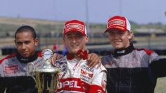 Hamilton, Kubica e Rosberg