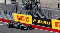 Hamilton taglia il traguardo del GP di Austin - F1 2017