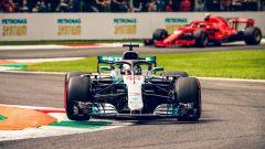 Hamilton vince il Gran Premio d'Italia davanti a Kimi Raikkonen