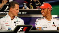 Hamilton vs Schumacher, chi è il migliore? I numeri dicono...