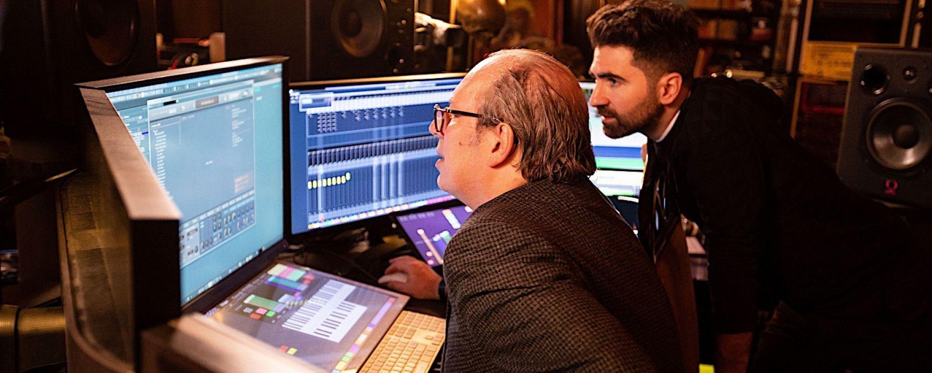 Hans Zimmer al lavoro sui suoni di BMW Vision M NEXT