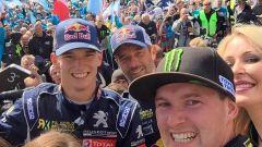 Hansen, Loeb e Bakkerud al Rallycross di Holjes