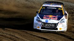 Hansen sulla Peugeot 208 Light - WRX 2017, GP di Hell in Norvegia