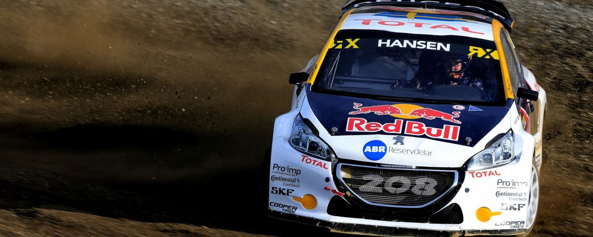 Hansen sulla Peugeot 208 Light - WRX 2017, GP di Hell in Norvegia