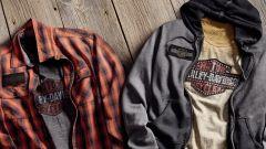 Harley Davidson, tre linee di abbigliamento per la stagione 2018