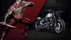 Harley-Davidson: 25 moto ispirate ai supereroi Marvel - Immagine: 12