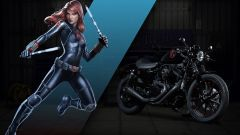 Harley-Davidson: 25 moto ispirate ai supereroi Marvel - Immagine: 4