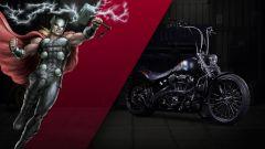 Harley-Davidson: 25 moto ispirate ai supereroi Marvel - Immagine: 18