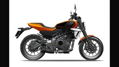 Harley 338: il bozzetto della vista laterale