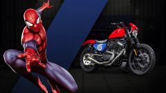 Harley-Davidson 883 Spiderman