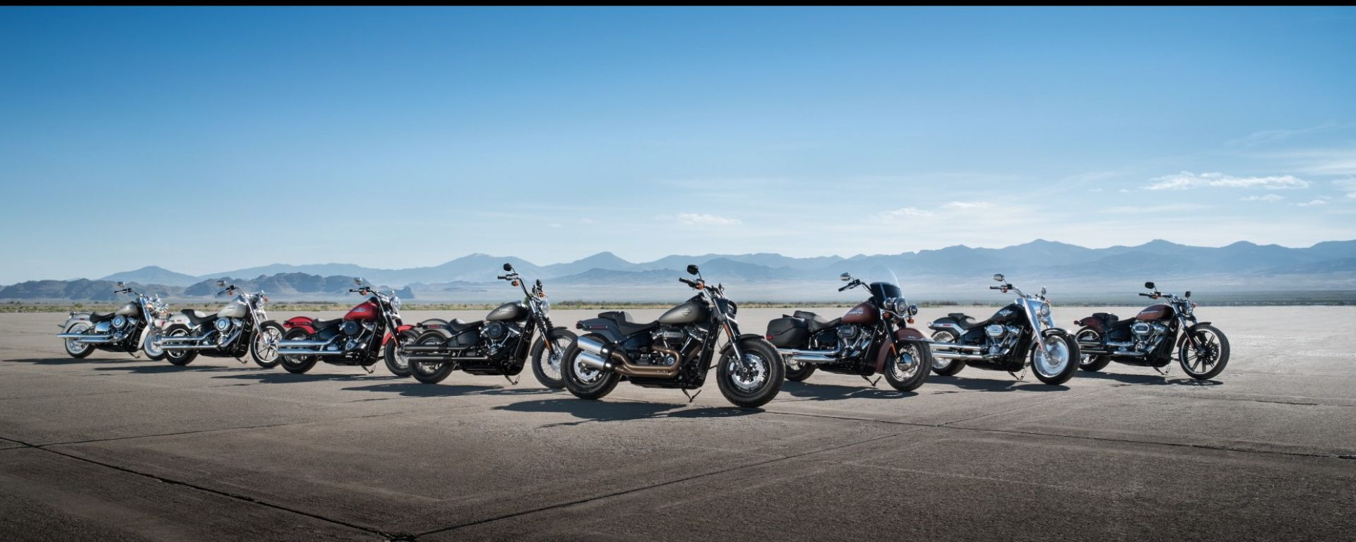 Harley Davidson: al MBE i nuovi Softail e la Battle of The King