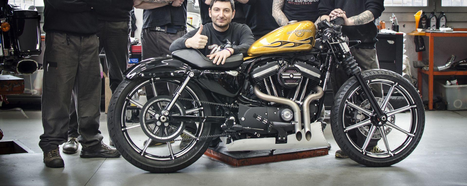 Harley-Davidson: il concessionario di Bologna vince la Battle of the kings