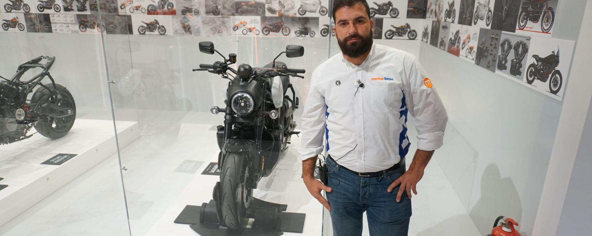 Harley-Davidson Bronx 2020 in video da Eicma 2019