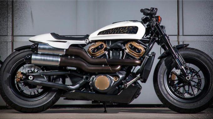 Harley-Davidson Custom 1250, il prototipo che anticipa il nuovo modello