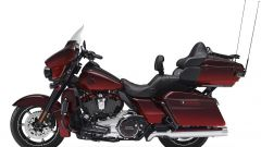 Harley-Davidson CVO Limited, red (vista laterale sinistra)