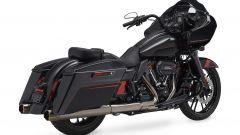 Harley-Davidson CVO Road Glide black, vista posteriore