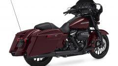 Harley-Davidson CVO Street Glide, vista posteriore