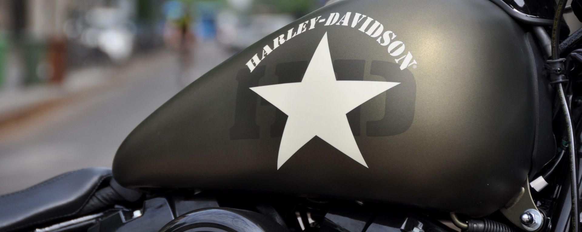 Harley-Davidson: il Dark Custom Tour a Rivanazzano Dragway
