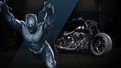 Harley-Davidson di Black Panther