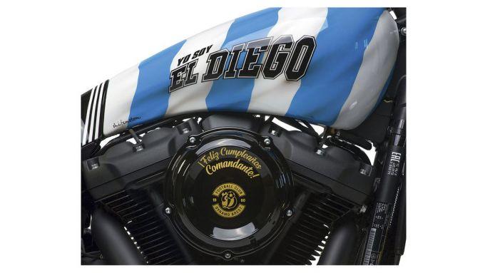 Harley-Davidson di Maradona El Diego