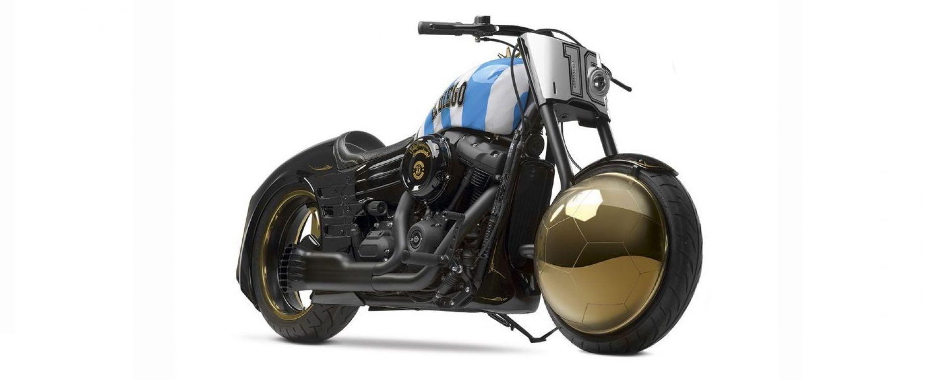 Harley-Davidson di Maradona